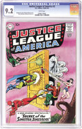 Silver Age (1956-1969):Superhero, Justice League of America #2 (DC, 1961) CGC NM- 9.2 White pages. Inone of the group's earliest adventures, the JLA heads fo...
