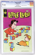 Modern Age (1980-Present):Humor, Little Lulu #260 File Copy (Whitman, 1980) CGC NM+ 9.6 White pages.Distributed in multi-packs only, this issue never made i...