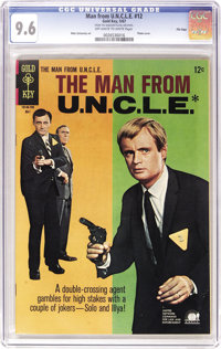 Man from U.N.C.L.E. File Copies CGC Group (Gold Key, 1965-69). Cure your case of T.H.R.U.S.H. with this group of slabbed...