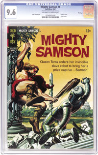 Mighty Samson File Copies CGC Group (Gold Key, 1967-69). All books in this group are CGC NM+ 9.6. Included here are #9...