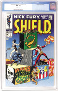 Silver Age (1956-1969):Superhero, Nick Fury, Agent of SHIELD #1 (Marvel, 1968) CGC NM+ 9.6 White pages. Jim Steranko wrote, penciled, and even colored this is...
