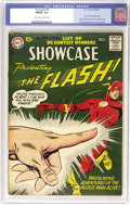 Silver Age (1956-1969):Superhero, Showcase #8 The Flash (DC, 1957) CGC FN/VF 7.0 Cream to off-whitepages. Currently number six on Overstreet's list of the te...