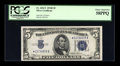 Small Size:Silver Certificates, Fr. 1652* $5 1934B Silver Certificate. PCGS Choice About New 58PPQ.. ...