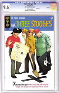 Silver Age (1956-1969):Humor, Three Stooges File Copies CGC Box Lot (Gold Key, 1963-70). This full box of slabbed copies offers plenty of nyuks for your b...