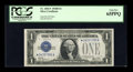 Small Size:Silver Certificates, Fr. 1602* $1 1928B Silver Certificate. PCGS Gem New 65PPQ.. ...
