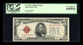 Small Size:Legal Tender Notes, Fr. 1531* $5 1928F Wide I Legal Tender Note. PCGS Very Choice New 64PPQ.. ...