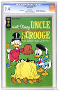 Bronze Age (1970-1979):Cartoon Character, Uncle Scrooge #85 (Gold Key, 1970) CGC NM 9.4 White pages. GyroGearloose appearance. Pete Alvarado art. Overstreet 2006 NM-...