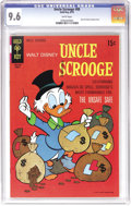 Bronze Age (1970-1979):Cartoon Character, Uncle Scrooge #88 (Gold Key, 1969) CGC NM+ 9.6 White pages. Here'sthe only copy of #88 that CGC has certified as of this wr...