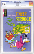 Bronze Age (1970-1979):Cartoon Character, Uncle Scrooge #95 (Gold Key, 1971) CGC NM+ 9.6 White pages. This isthe only copy of the issue that CGC has certified as of ...