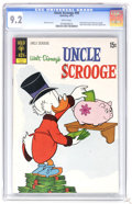 Bronze Age (1970-1979):Cartoon Character, Uncle Scrooge #98 (Gold Key, 1972) CGC NM- 9.2 White pages. The Beagle Boys and Gyro Gearloose appear. Overstreet 2006 NM- 9...