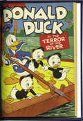 Golden Age (1938-1955):Miscellaneous, Four Color #97-108 Bound Volume (Dell, 1946). The presence of favorite characters and memorable stories is nice, but the con...