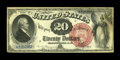 Large Size:Legal Tender Notes, Fr. 133 $20 1880 Legal Tender Very Fine-Extremely Fine....