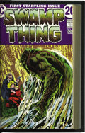 Bronze Age (1970-1979):Horror, Swamp Thing #1-20 Bound Volume (DC, 1972-76). Features copies ofSwamp Thing #1-20 that have been trimmed and bound into...