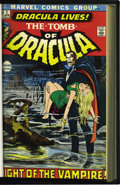 Bronze Age (1970-1979):Horror, Tomb of Dracula #1-40 Bound Volumes Plus (Marvel, 1972-75). Thispair of volumes features copies of Tomb of Dracula #1-4... (Total:2 Items)