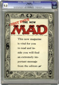 Magazines:Mad, Mad #24 (EC, 1955) CGC VF/NM 9.0 Cream to off-white pages. The Madcomic broke new ground and blew the minds of many of its ...
