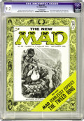 Golden Age (1938-1955):Humor, Mad #25 (EC, 1955) CGC NM- 9.2 Off-white pages. Here is a stunning copy of the second magazine issue of Mad. The cover p...