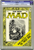 Magazines:Mad, Mad #25 White Mountain pedigree (EC, 1955) CGC VF+ 8.5 Off-whitepages. Mad history was made here, as the magazine annou...