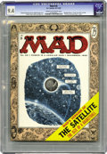 """Magazines:Mad, Mad #26 (EC, 1955) CGC NM 9.4 Cream to off-white pages. A MarilynMonroe """"Seven Year Itch"""" parody appears inside this book w..."""