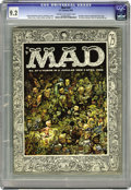 Magazines:Mad, Mad #27 (EC, 1956) CGC NM- 9.2 Cream to off-white pages. AlJaffee's first issue as a staff artist. Jack Davis cover. Davis,...
