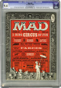 Magazines:Mad, Mad #29 (EC, 1956) CGC NM 9.4 Cream to off-white pages. Al Feldstein began his long stint as the editor of Mad on this issue...