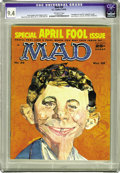 Magazines:Mad, Mad #39 (EC, 1958) CGC NM 9.4 Off-white pages. The likes of FrankSinatra, Elvis, Jayne Mansfield, Bob Hope, George Burns, a...