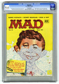 Magazines:Mad, Mad #41 (EC, 1958) CGC NM 9.4 Off-white pages. Kelly Freas cover.Mell Lazarus, Wally Wood, Joe Orlando, Don Martin, Dave Be...
