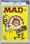 Magazines:Mad, Mad #51 Gaines File pedigree (EC, 1959) CGC NM 9.4 Off-white to white pages. Kelly Freas cover. Mort Drucker, Don Martin, W...