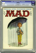 Magazines:Mad, Mad #63 Pacific Coast pedigree (EC, 1961) CGC NM- 9.2 Off-white to white pages. Kelly Freas cover. Mort Drucker, Wally Wood,...