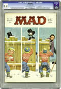 Magazines:Mad, Mad #85 Pacific Coast pedigree (EC, 1964) CGC NM 9.4 Cream tooff-white pages. Dick Tracy and Popeye parodies. Norman Mingo ...