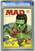 Magazines:Mad, Mad #89 (EC, 1964) CGC NM 9.4 Off-white to white pages. NormanMingo cover featuring Frankenstein's monster. Mort Drucker, D...