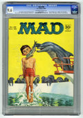 Magazines:Mad, Mad #98 (EC, 1965) CGC NM+ 9.6 Off-white to white pages. Norman Mingo cover. Dave Berg, Mort Drucker, Al Jaffee, George Wood...