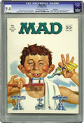 Magazines:Mad, Mad #109 Pacific Coast pedigree (EC, 1967) CGC NM 9.4 Off-white towhite pages. Mort Drucker, Don Martin, Al Jaffee, Jack Da...