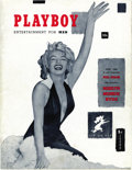 Magazines:Miscellaneous, Playboy V1#1 (HMH Publishing, 1953) Condition: FN/VF. This issuestarted a multimedia phenomenon and made Hugh Hefner a hous...