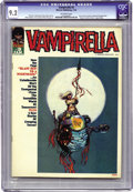 Magazines:Horror, Vampirella #3 (Warren, 1970) CGC NM- 9.2 Off-white pages. Thisissue's considered to be among the hardest ones to find along...