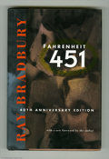 Books:Signed Editions, Fahrenheit 451 by Ray Bradbury Signed Anniversary Edition (1993).This lot features a signed copy of the 40th anniversary ed...