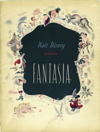 Disney Art Books and Catalogs Group (Various, 1940-94)