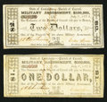 Obsoletes By State:Louisiana, (Floyd), LA- Parish of Carroll $1, $2 July 8, 1862. ... (Total: 2 notes)