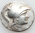 Ancients:Greek, Ancients: PAMPHYLIA. Side. Ca. 145-125 BC. AR tetradrachm (31mm,16.36 gm, 12h). ...