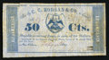 Obsoletes By State:Louisiana, New Orleans, LA- C.C. Morgan - Crescent City Soap Works 50¢ Feb. 4, 1862. ...
