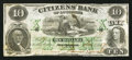 Obsoletes By State:Louisiana, New Orleans, LA- Citizens' Bank of Louisiana Counterfeit $10 Dec. 1, 1857 C22a. ...