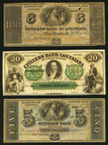 Obsoletes By State:Louisiana, Louisiana Citizens' Bank of Louisiana Remainder Group About Uncirculated and Better. Three Examples.. ... (Total: 3 notes)