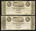 Obsoletes By State:Louisiana, New Orleans, LA- New Orleans Improvement and Banking Company $10 pair 1836 dates G4. ... (Total: 2 notes)