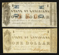 Obsoletes By State:Louisiana, Shreveport, LA- State of Louisiana $1 Mar. 1, 1864 Cr. 19A, 19F. ... (Total: 2 notes)