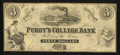 Obsoletes By State:Tennessee, Purdy, TN- Purdy's College Bank $3 Schingoethe TN-200-3. ...
