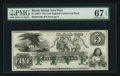 Obsoletes By State:Rhode Island, Newport, RI- New England Commercial Bank $5 Remainder G76b Durand 629. ...