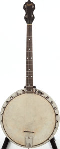 Musical Instruments:Banjos, Mandolins, & Ukes, 1926 Bacon Natural Tenor Banjo, Serial # 19808....
