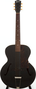 Musical Instruments:Acoustic Guitars, 1940 Gibson Special # 5 Black Archtop Acoustic Guitar. ...