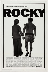 "Rocky (United Artists, 1977). One Sheet (27"" X 41"") and Advertising Brochure (4 Pages, 10.5"" X 14"")..."
