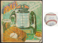 Baseball Collectibles:Others, 1974 Baltimore Orioles Multi Signed Book and 2004 Orioles TeamSigned Baseball....