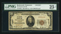 National Bank Notes:Tennessee, Rockwood, TN - $20 1929 Ty. 1 The Rockwood NB Ch. # 12257. ...